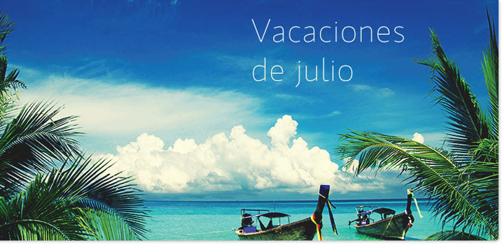 vacaciones de julio